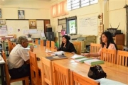 นิเทศ ติดตามเพื่อเตรียมความพร้อมวันเปิดภาคเรียน และแลกเปลี่ยนเรียนรู้เกี่ยวกับการนำมาตรฐานการเรียนรู้และตัวชี้วัด สู่การปฏิบัติ