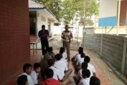 การสุ่มตรวจปัสสาวะนักเรียนชั้นป.6 ผ่านโครงการ D.A.R.E.ประเทศไทย