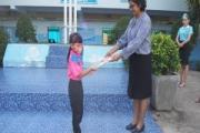 กิจกรรมแจกของรางวัลวันแม่แห่งชาติ ปีการศึกษา2563